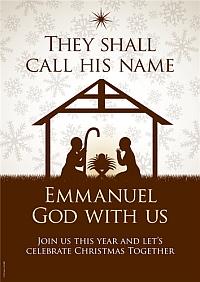Christmas - They shall call His name Emmanuel God with us