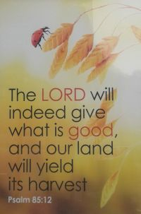 Harvest - Psalm 85-12