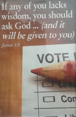 Election Vote James 1:5